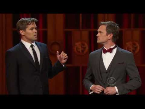 2013 Tonys  Funny Duet Kiss LA Goode