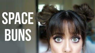 Space Bun Hair Tutorial