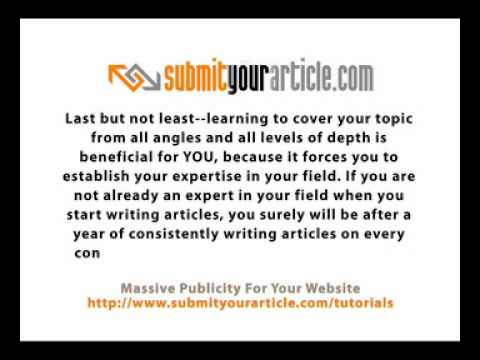 New Article Template: Get your next 5 article ideas ...