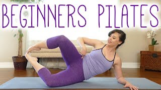 The Best Pilates Exercises to Tone Inner Thighs & Glutes | Beginners Workout with Kait