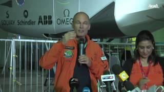سولار امبلس-2 على بعد ساعات من محطتها الأخيرة في رحلتها حول العالم