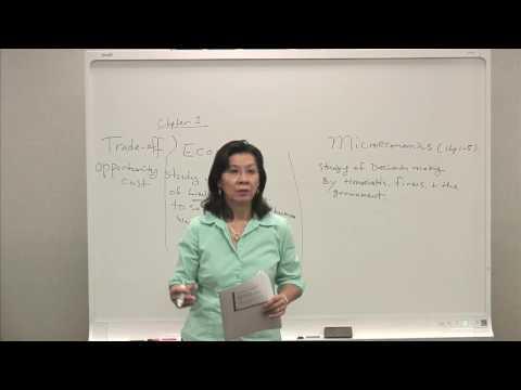 Economics & Opportunity Cost