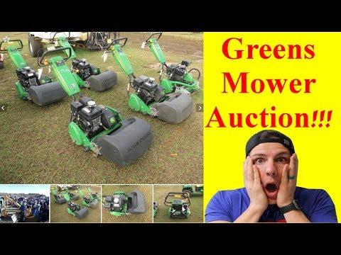 Golf Course Eqipment Auction