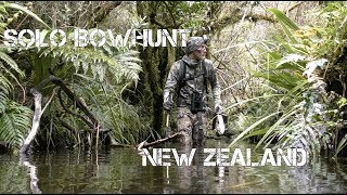 Recurve Bowhunt for Chamois - Public Land, New Zealand 1/2
