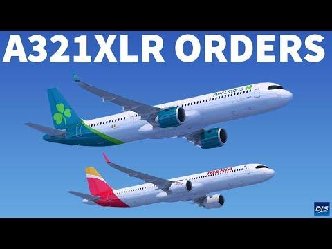Aer Lingus & Iberia Orders A321XLR
