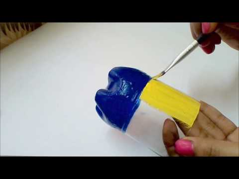 Plastic bottle craft idea | Best out of waste | Waste material craft