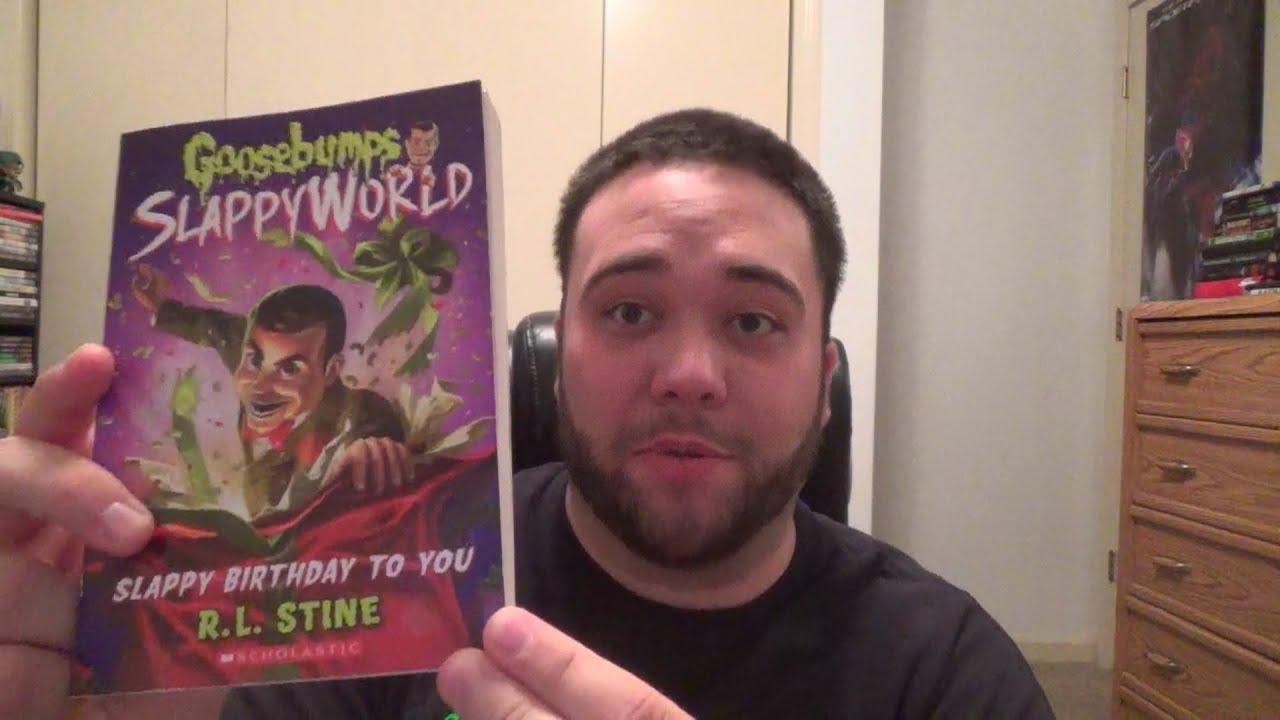 Goosebumps Slappyworld Slappy Birthday To You Book Review Youtube
