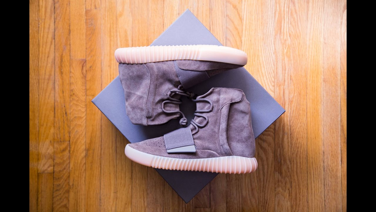 969a3ecf7e1 Adidas Yeezy Boost 750 Chocolate Light Brown Gum Review and On Feet ...