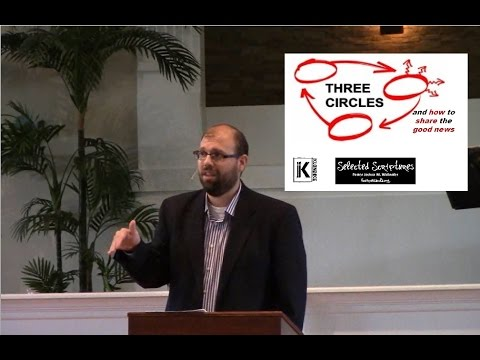 """Message: """"3 Circles, How To Share The Good News"""" by Joshua Wallnofer"""