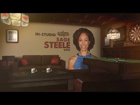 ESPN's Sage Steele In-Studio on The Dan Patrick Show | Full Interview | 8/24/17