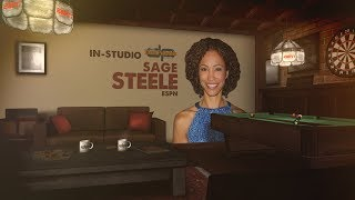 ESPN's Sage Steele In-Studio on The Dan Patrick Show | Full Interview | 8/24/17