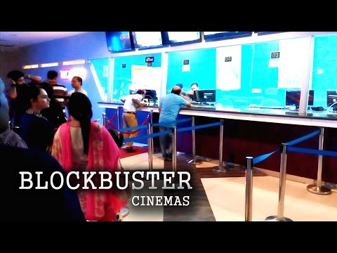 Blockbuster Cinemas - Jamuna future park shopping and entertainment Complex.