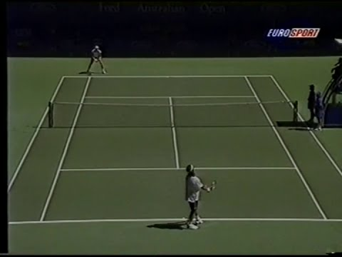 ATP Australian Open 97 Moya vs Becker 1st part2