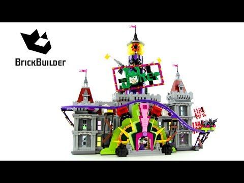 Lego Batman Movie 70922 The Joker Manor - Lego Speed Build - Brick Builder