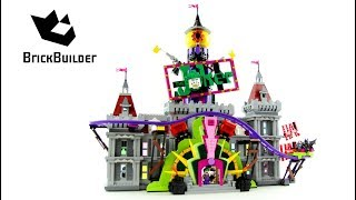 Lego Batman Movie 70922 The Joker Manor - Lego Speed Build - Brick Builder