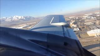 Embraer EMB-120 Brasilia Takeoff KSLC 121514
