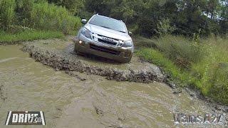 Isuzu D-Max - Off-Road Driving   DRIVEit 2014