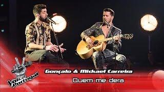 Download lagu Mickael Carreira Gonçalo Lopes Quem me dera Final The Voice Portugal