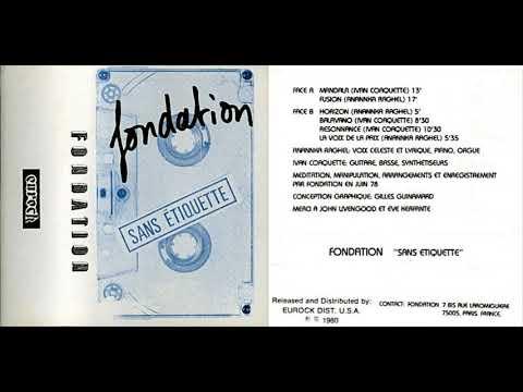 """Foundation, """"Mandala"""""""