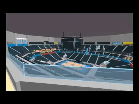 ROBLOX Chesapeake Energy Arena Tour