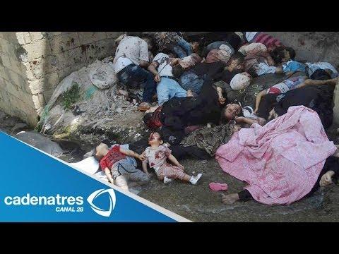 Conflicto en Siria ocasiona la muerte de más de 11 mil niños