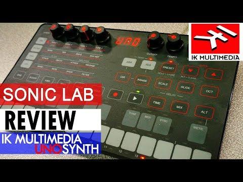 Sonic LAB: Uno Synth - IK Multimedia Mp3