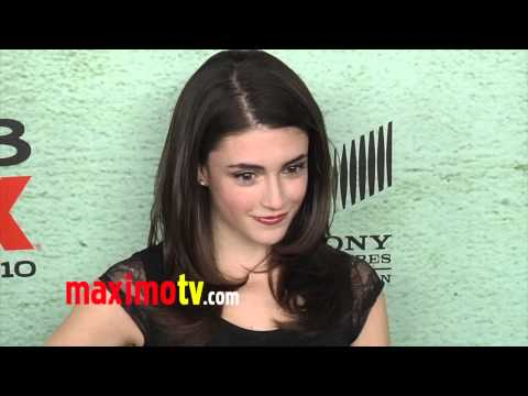 Daniela Bobadilla JUSTIFIED Season 4 Premiere Red Carpet Arrivals January 2013