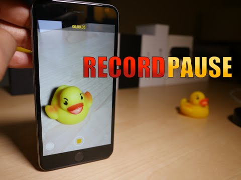 Cydia Tweak: RecordPause - Pause video recording in the Camera app