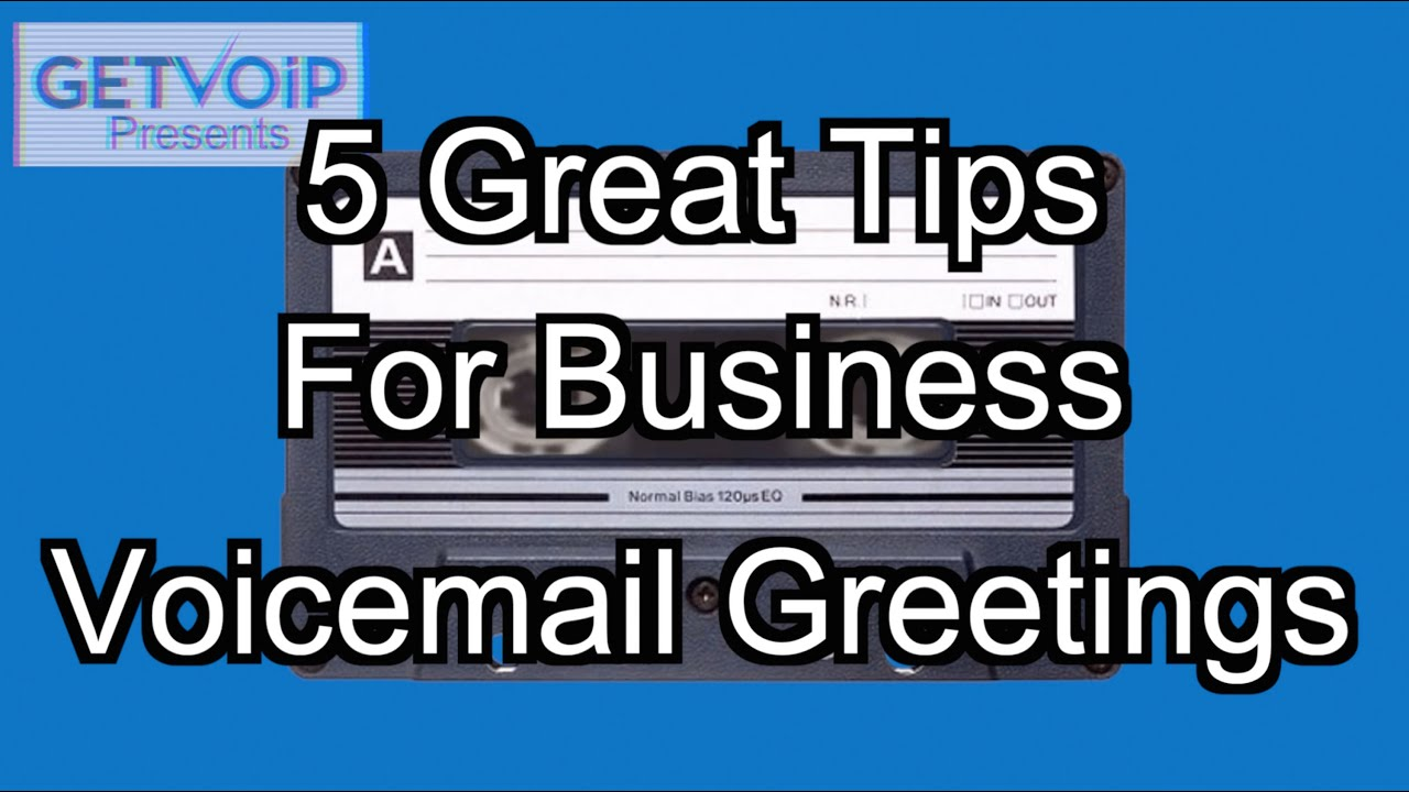 5 tips for great business voicemail greetings youtube 5 tips for great business voicemail greetings kristyandbryce Images