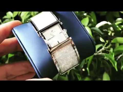 (Review Đồng Hồ]) Swarovski Women's Crystalline 5027134 Silver Stainless-Steel Swiss Quartz Watch