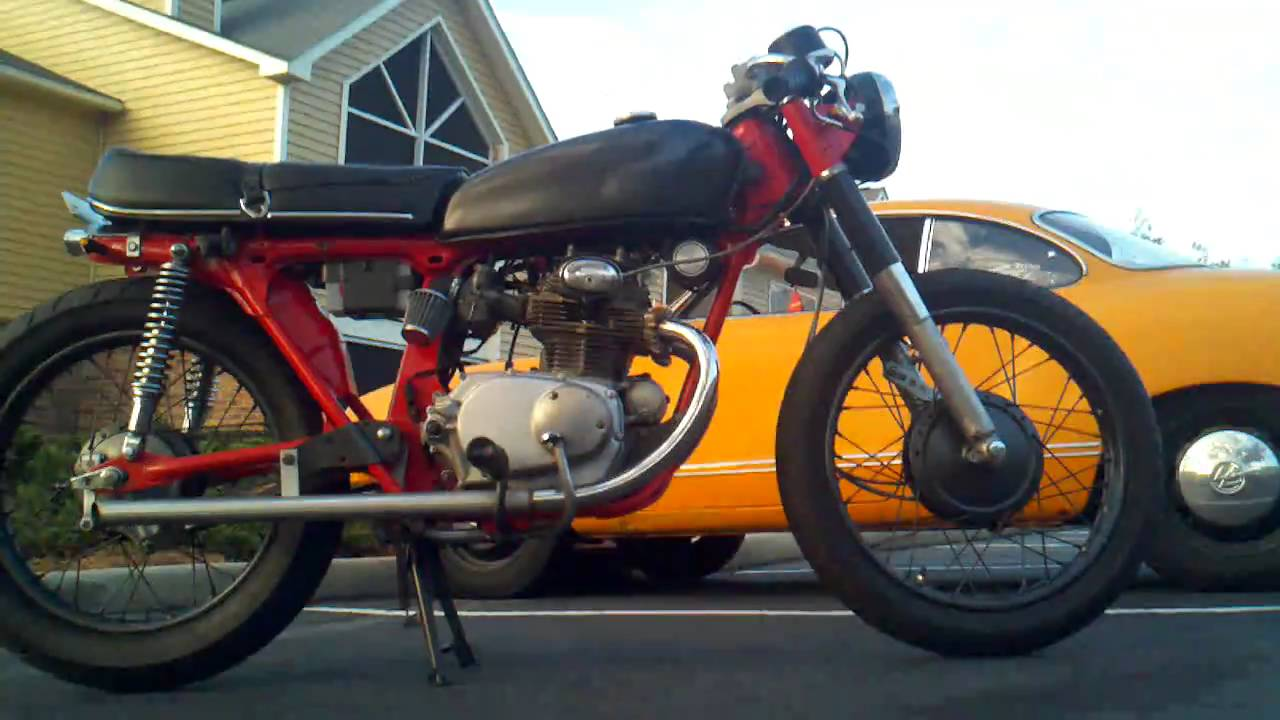 Tilting Motor Works >> 1972 Honda CB175 - YouTube