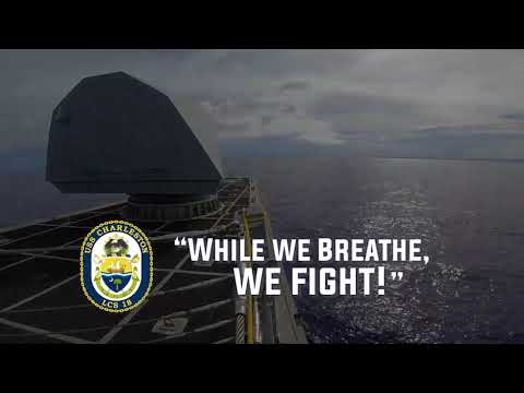 USS Charleston (LCS 18) Underway in the Indo-Pacific