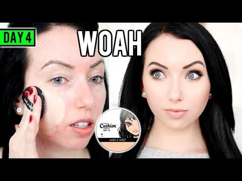 Download Youtube: NEW Wet n Wild CUSHION FOUNDATION [First Impression Review] 15 DAYS OF FOUNDATION