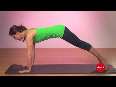 How to do Pilates push ups