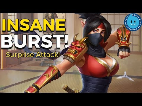 Paladins: Skye New Surprise Attack Gameplay and Loadout! Surprise Attack's Burst Is INSANE Now!