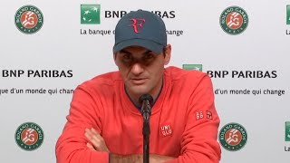 video: Roger Federer pulls out of French Open 2021 after win overDominik Koepfer