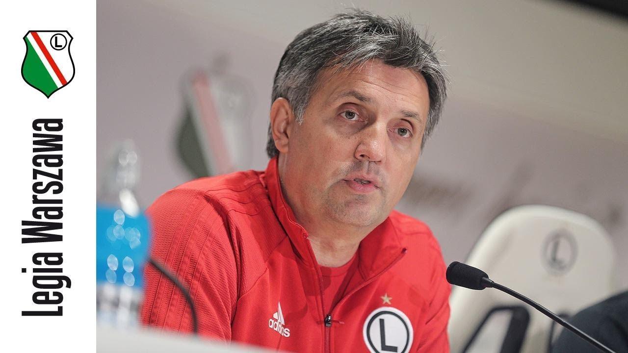 Konferencja po meczu z Piastem Gliwice (1:0)