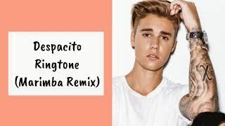 Despacito Ringtone | Justin Bieber | (Marimba Remix)