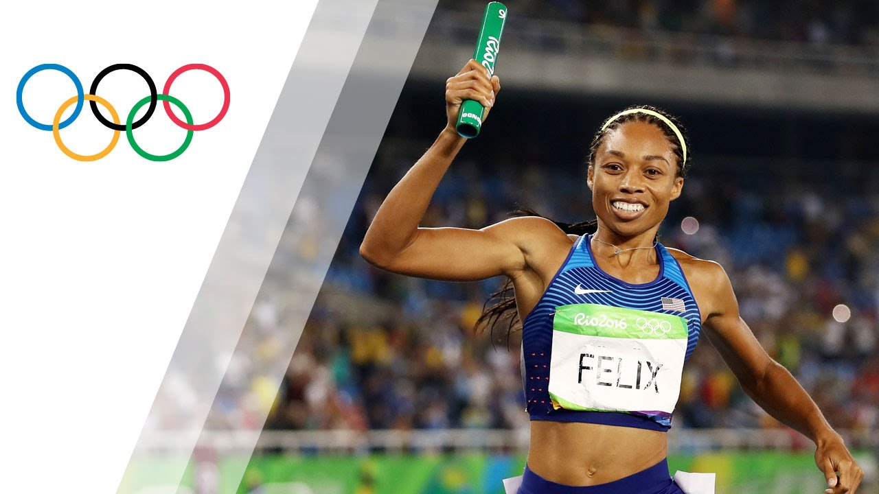 Download Sixth gold in Women's 4x400 Relay for the USA
