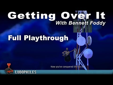 Getting Over It With Bennett Foddy - Full Playthrough, Ending (excl. reward), extra Snake Ride