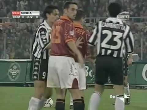 AS Roma 0-1 Juventus - Campionato 1999/00