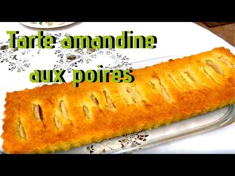 tarte-amandine-aux-poires-facile---tarte-aux-poire-&-crème-d'amande---recette-#254