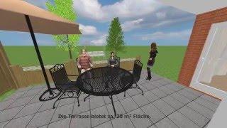 216-02 3-Zi-ETW mit Terrasse und Gartennutzung nahe Oldenburg