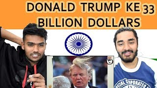 Indian reaction on DONALD TRUMP KE 33 BILLION DOLLARS | AWESAMO SPEAKS | KhujLee Family | Swaggy d