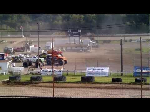 Backdraft vs XDP @ Pittsburgh Pennsylvania Motor Speedway 2012