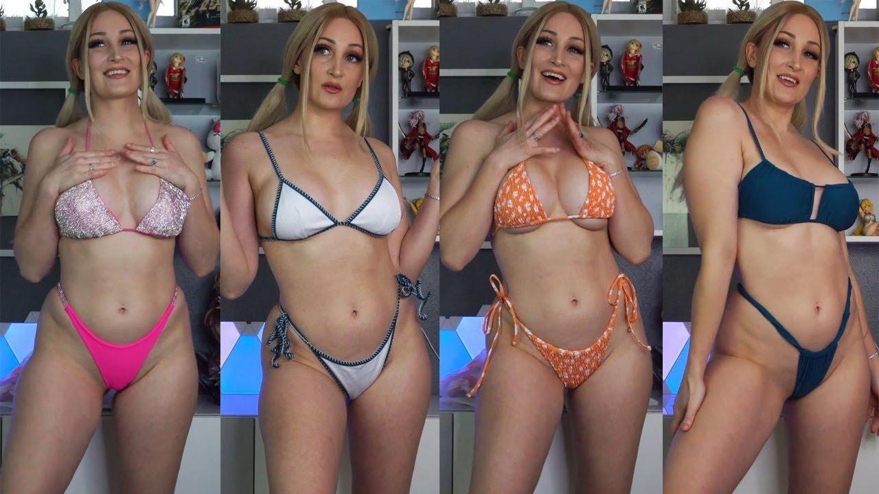 So Much Underboob! Sexy Bikini Welooc Try-On Haul I HOLLY WOLF