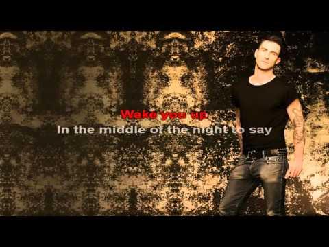 Never Gonna Leave This Bed  - Maroon 5 - Lyric Karaoke