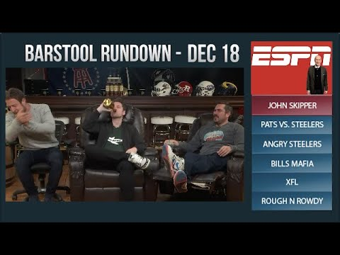 Barstool Rundown - December 18, 2017