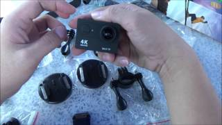 Review H9 Ultra HD 4K Action Camera