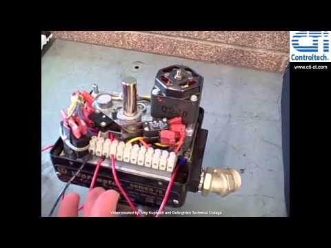 How does an electric actuator work doovi for How motor operated valve works